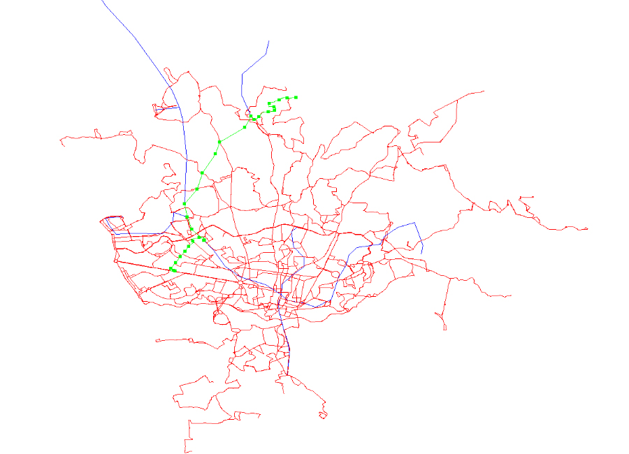 Public Transport Route Planner